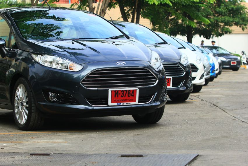 DRIVEN: 2014 Ford Fiesta 1.0 EcoBoost in Chiang Mai Image #216690
