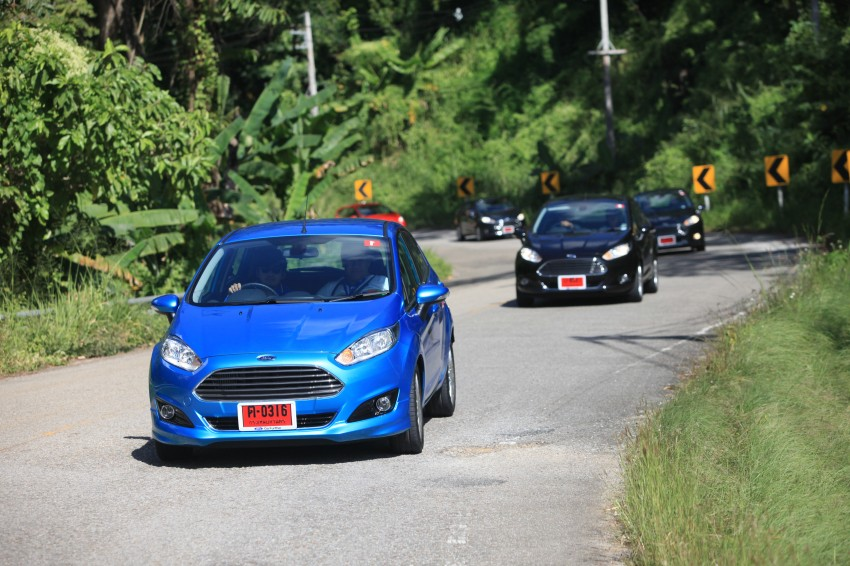 DRIVEN: 2014 Ford Fiesta 1.0 EcoBoost in Chiang Mai Image #216689