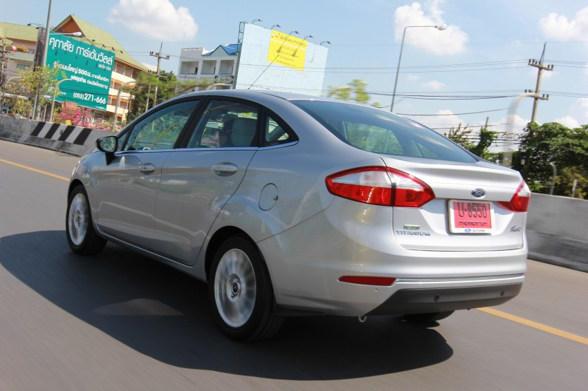 DRIVEN: 2014 Ford Fiesta 1.0 EcoBoost in Chiang Mai Image #216685