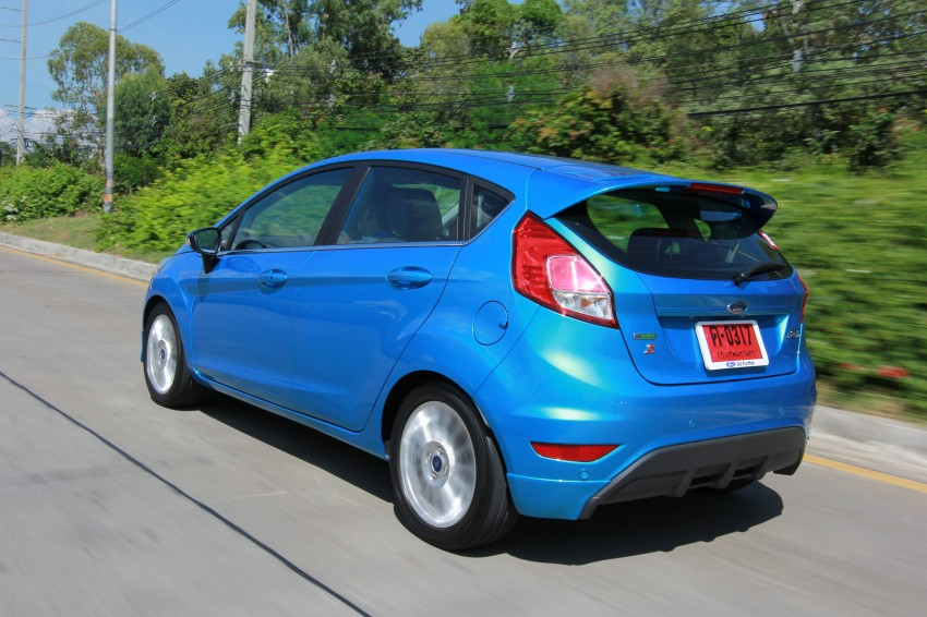 DRIVEN: 2014 Ford Fiesta 1.0 EcoBoost in Chiang Mai Image #216684