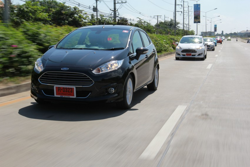 DRIVEN: 2014 Ford Fiesta 1.0 EcoBoost in Chiang Mai Image #216683