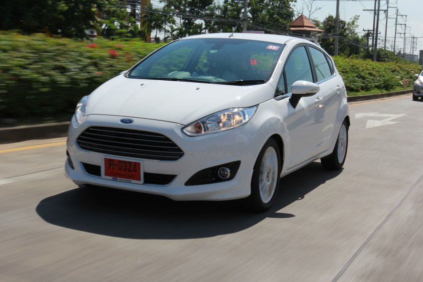 DRIVEN: 2014 Ford Fiesta 1.0 EcoBoost in Chiang Mai Image #216682