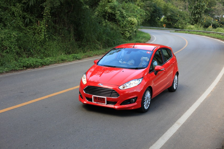 DRIVEN: 2014 Ford Fiesta 1.0 EcoBoost in Chiang Mai Image #216680