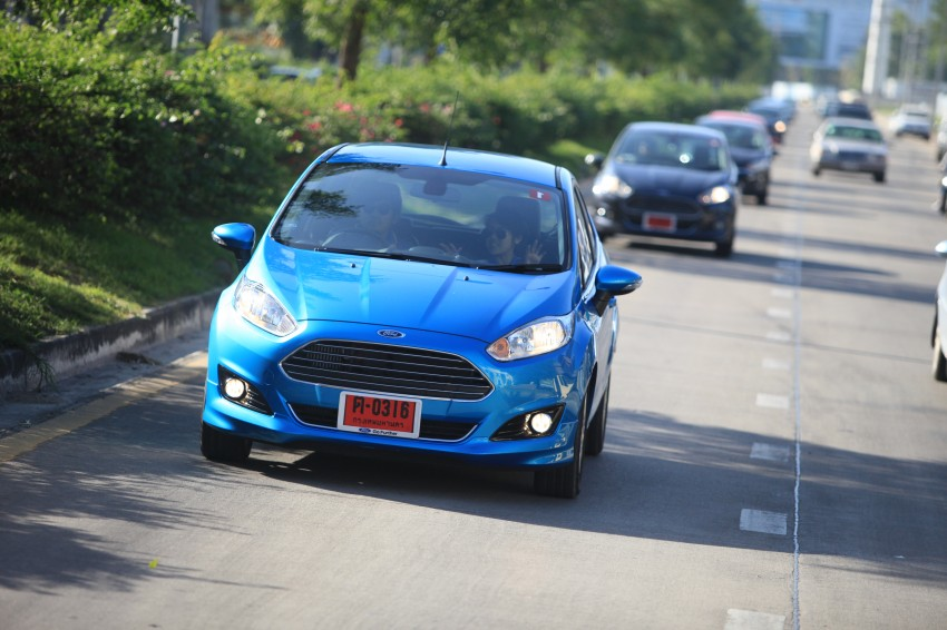 DRIVEN: 2014 Ford Fiesta 1.0 EcoBoost in Chiang Mai Image #216677