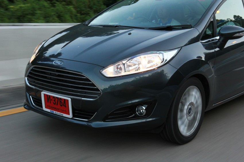 DRIVEN: 2014 Ford Fiesta 1.0 EcoBoost in Chiang Mai Image #216675