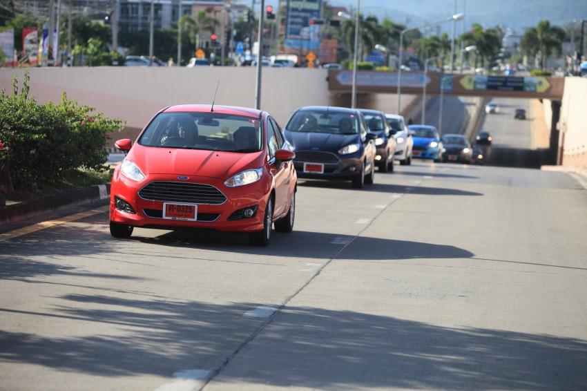 DRIVEN: 2014 Ford Fiesta 1.0 EcoBoost in Chiang Mai Image #216672