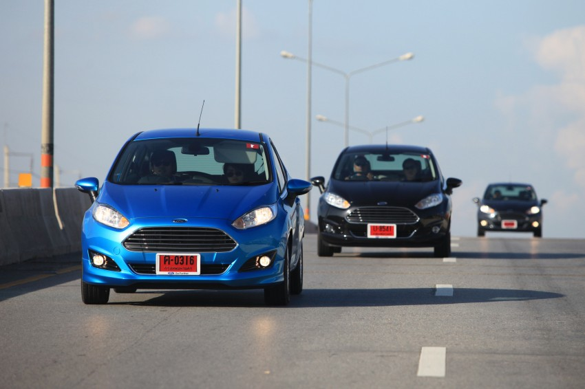 DRIVEN: 2014 Ford Fiesta 1.0 EcoBoost in Chiang Mai Image #216668