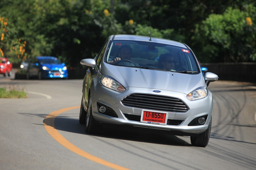 DRIVEN: 2014 Ford Fiesta 1.0 EcoBoost in Chiang Mai Image #216667