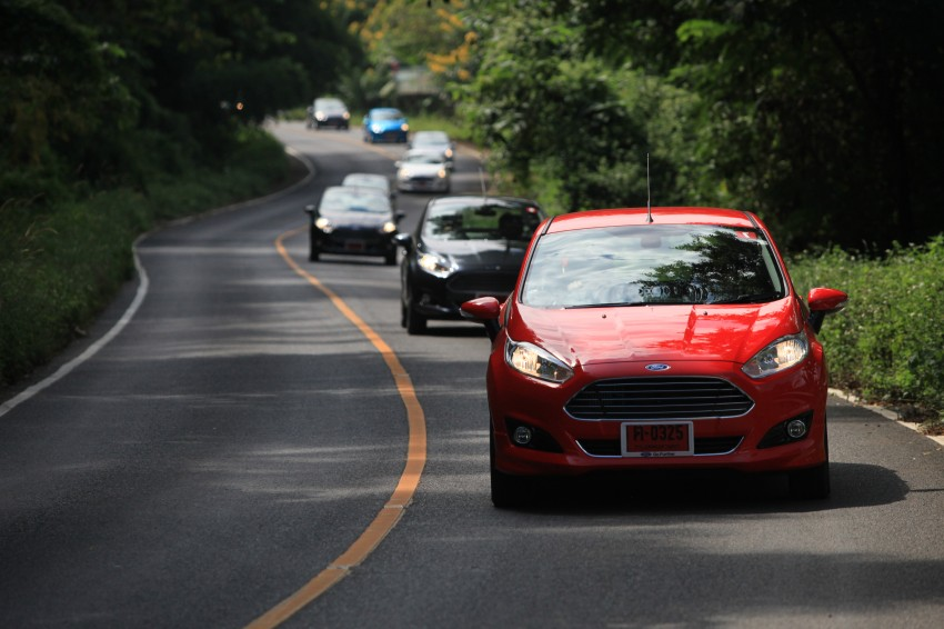 DRIVEN: 2014 Ford Fiesta 1.0 EcoBoost in Chiang Mai Image #216665