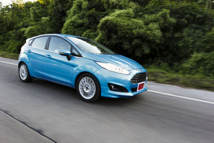 DRIVEN: 2014 Ford Fiesta 1.0 EcoBoost in Chiang Mai Image #216664