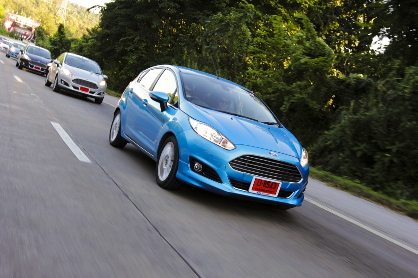 DRIVEN: 2014 Ford Fiesta 1.0 EcoBoost in Chiang Mai Image #216663