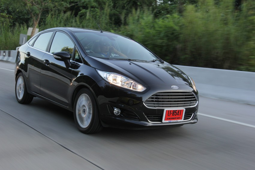 DRIVEN: 2014 Ford Fiesta 1.0 EcoBoost in Chiang Mai Image #216662
