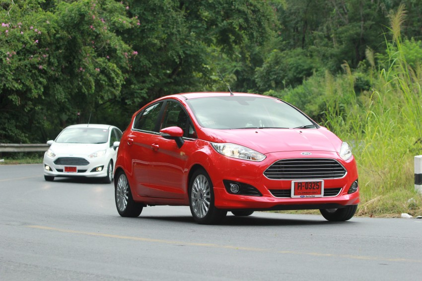 DRIVEN: 2014 Ford Fiesta 1.0 EcoBoost in Chiang Mai Image #216658