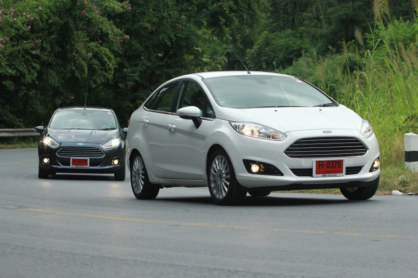 DRIVEN: 2014 Ford Fiesta 1.0 EcoBoost in Chiang Mai Image #216657