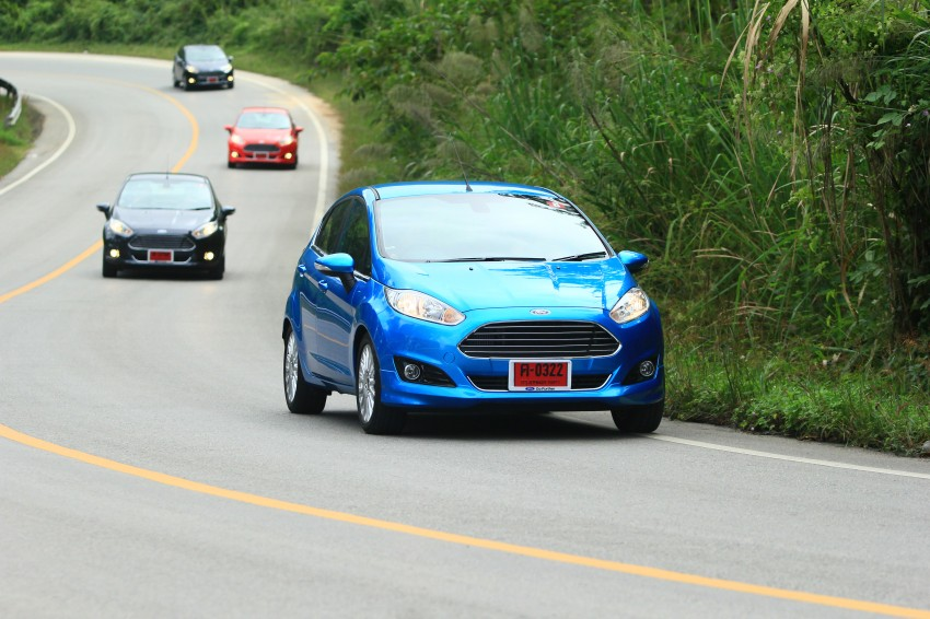 DRIVEN: 2014 Ford Fiesta 1.0 EcoBoost in Chiang Mai Image #216655