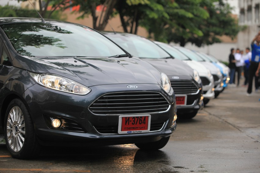 DRIVEN: 2014 Ford Fiesta 1.0 EcoBoost in Chiang Mai Image #216649