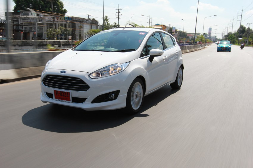 DRIVEN: 2014 Ford Fiesta 1.0 EcoBoost in Chiang Mai Image #216647