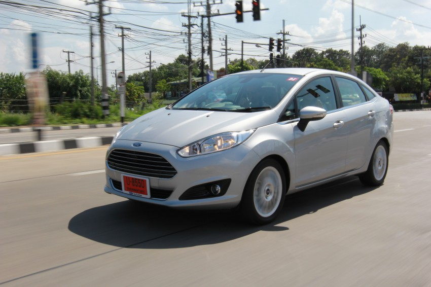 DRIVEN: 2014 Ford Fiesta 1.0 EcoBoost in Chiang Mai Image #216646