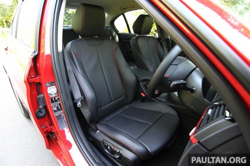 DRIVEN: F30 BMW 320i Sport Line – entry-levelled up? Image #218972