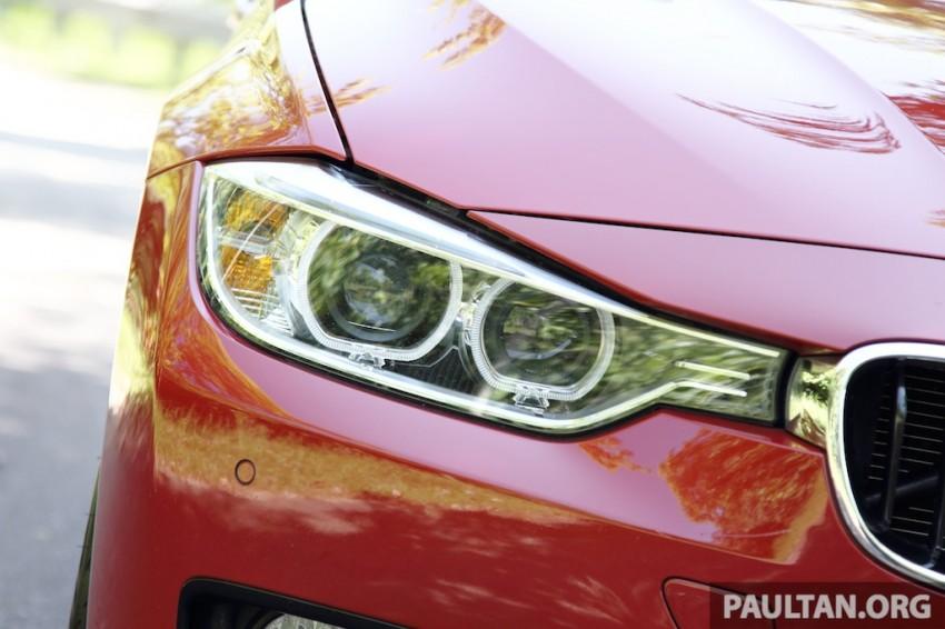 DRIVEN: F30 BMW 320i Sport Line – entry-levelled up? Image #218971