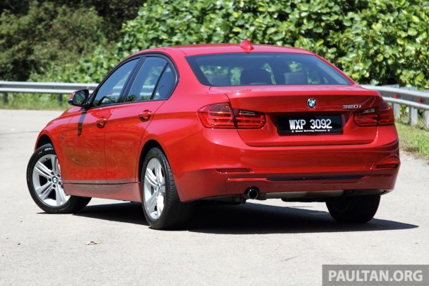 DRIVEN: F30 BMW 320i Sport Line – entry-levelled up? Image #218965