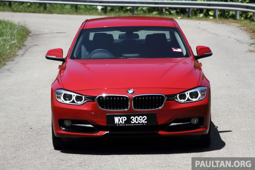 DRIVEN: F30 BMW 320i Sport Line – entry-levelled up? Image #218962