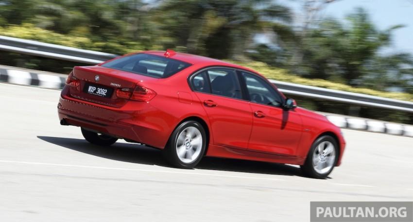 DRIVEN: F30 BMW 320i Sport Line – entry-levelled up? Image #218960