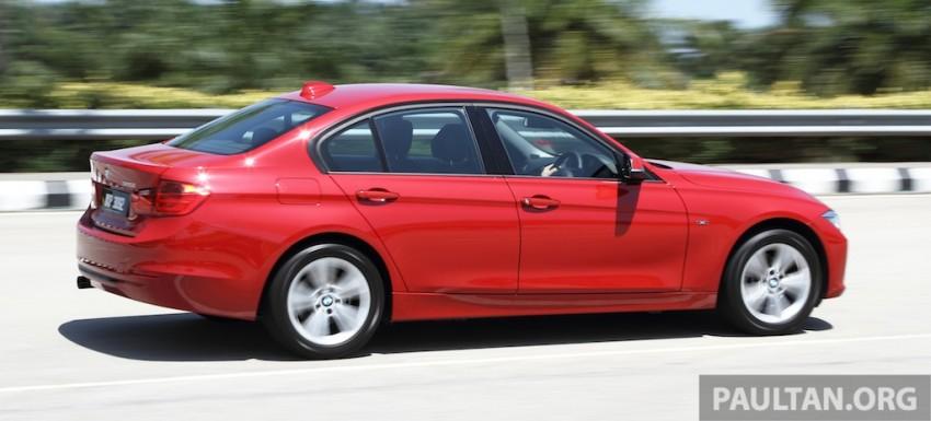 DRIVEN: F30 BMW 320i Sport Line – entry-levelled up? Image #218957