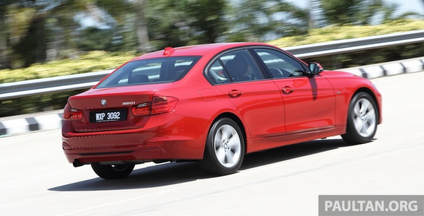 DRIVEN: F30 BMW 320i Sport Line – entry-levelled up? Image #218956