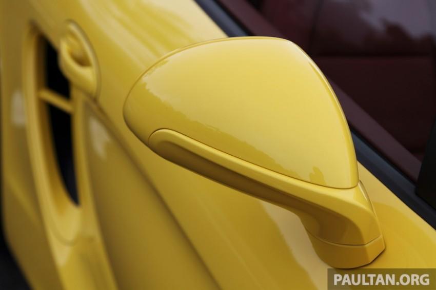 DRIVEN: 981 Porsche Boxster S 3.4 PDK Image #218944