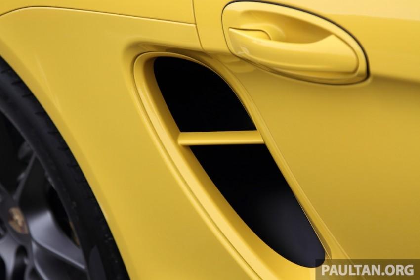 DRIVEN: 981 Porsche Boxster S 3.4 PDK Image #218943