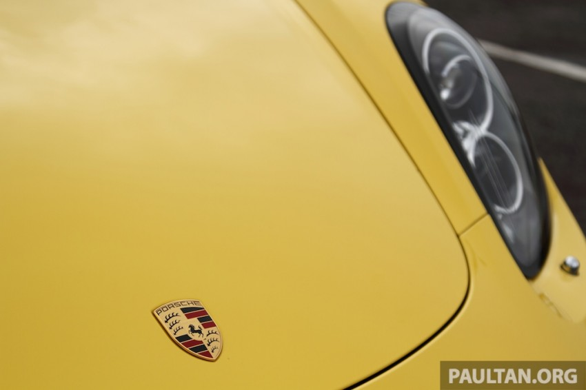 DRIVEN: 981 Porsche Boxster S 3.4 PDK Image #218938