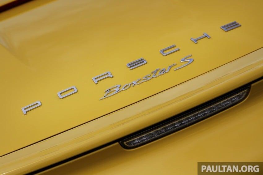 DRIVEN: 981 Porsche Boxster S 3.4 PDK Image #218934