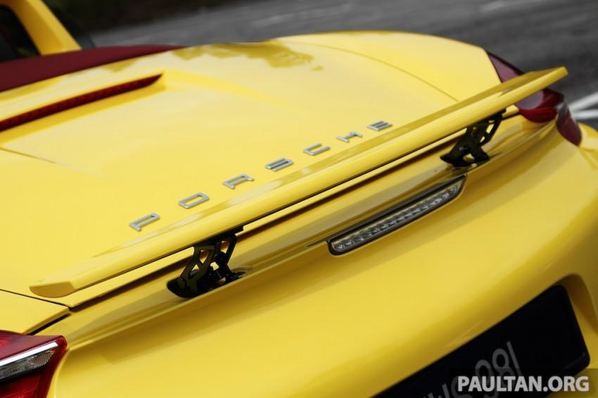 DRIVEN: 981 Porsche Boxster S 3.4 PDK Image #218932