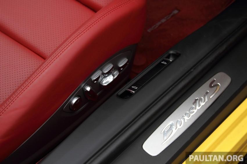 DRIVEN: 981 Porsche Boxster S 3.4 PDK Image #218930