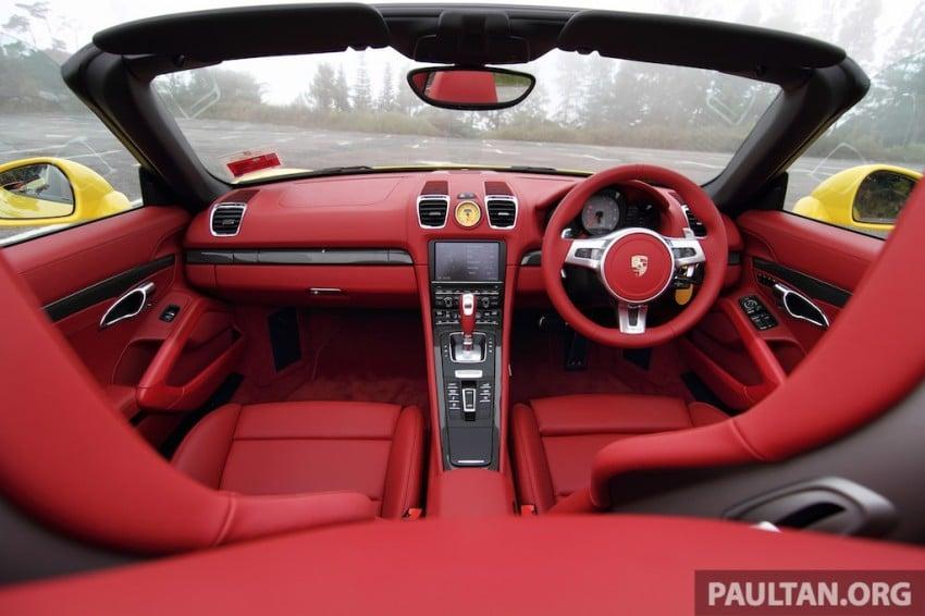 DRIVEN: 981 Porsche Boxster S 3.4 PDK Image #218904