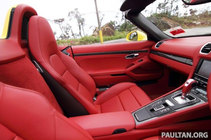 DRIVEN: 981 Porsche Boxster S 3.4 PDK Image #218901