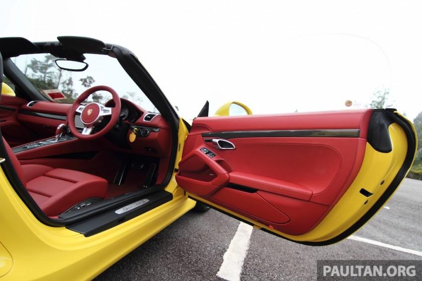 DRIVEN: 981 Porsche Boxster S 3.4 PDK Image #218900