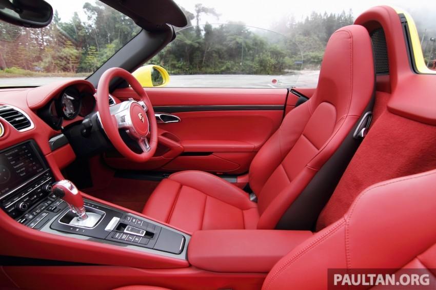 DRIVEN: 981 Porsche Boxster S 3.4 PDK Image #218899