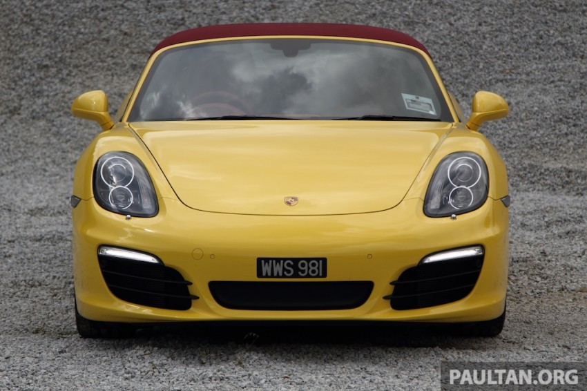 DRIVEN: 981 Porsche Boxster S 3.4 PDK Image #218897