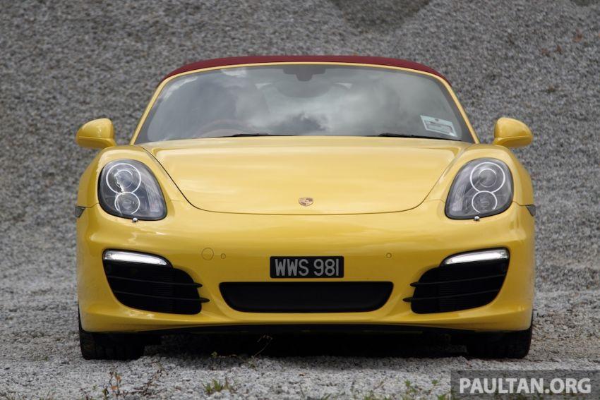 DRIVEN: 981 Porsche Boxster S 3.4 PDK Image #218896