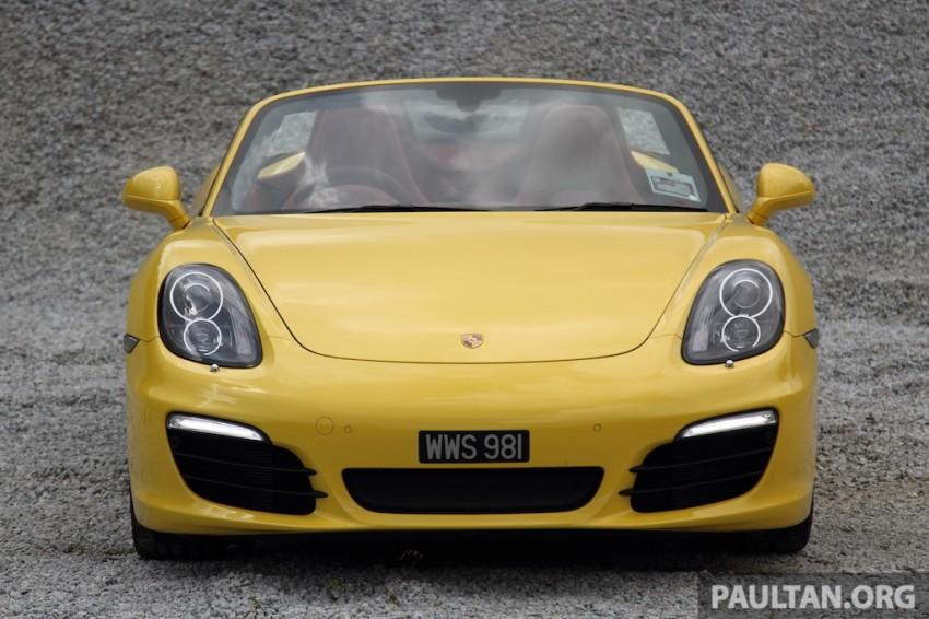 DRIVEN: 981 Porsche Boxster S 3.4 PDK Image #218895