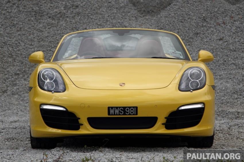 DRIVEN: 981 Porsche Boxster S 3.4 PDK Image #218894