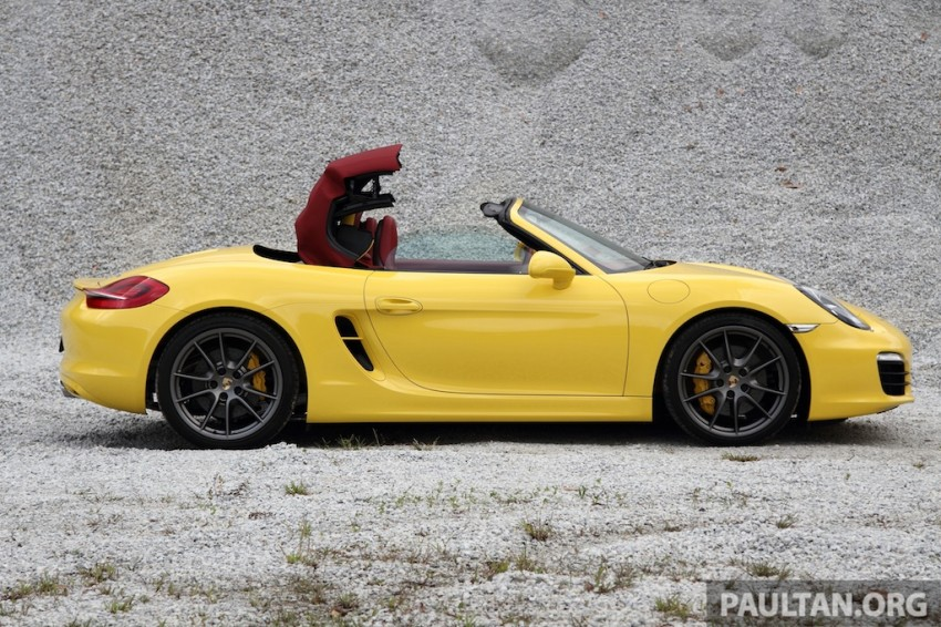 DRIVEN: 981 Porsche Boxster S 3.4 PDK Image #218885