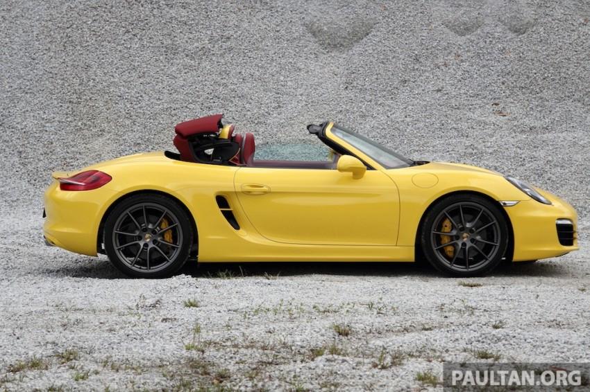 DRIVEN: 981 Porsche Boxster S 3.4 PDK Image #218883