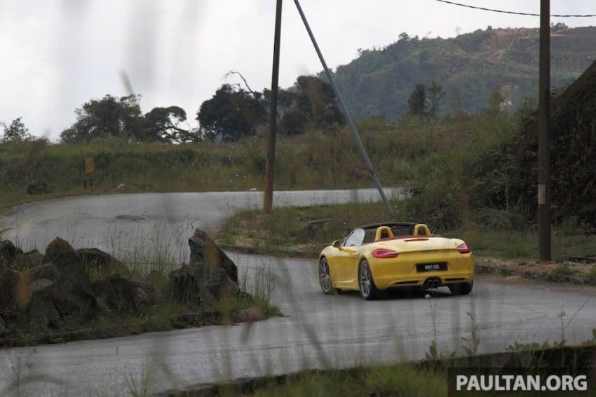 DRIVEN: 981 Porsche Boxster S 3.4 PDK Image #218870