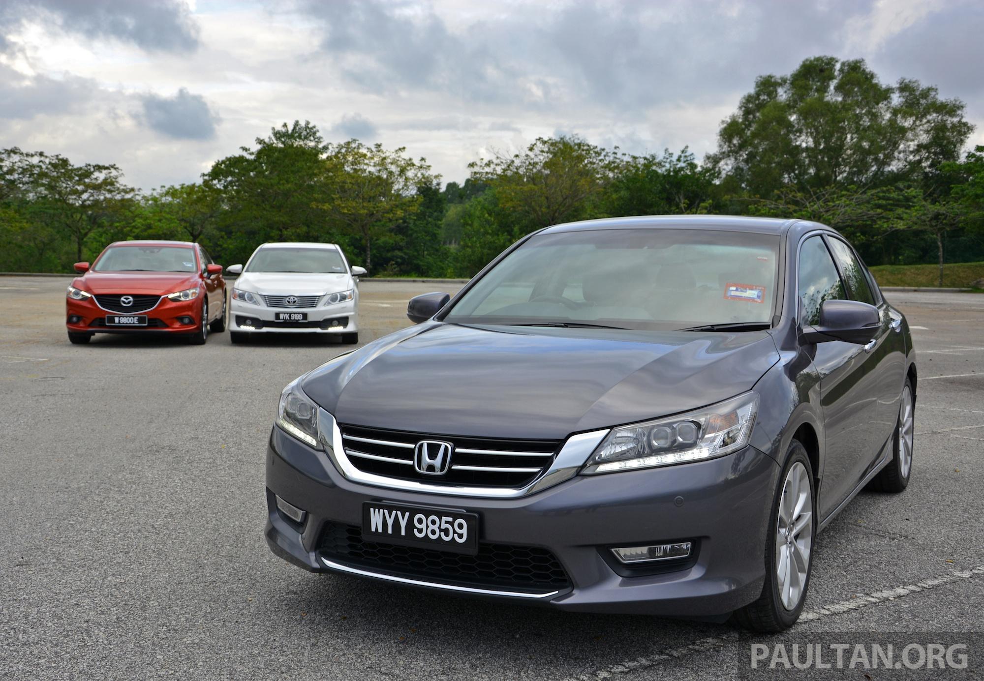 Toyota camry vs mazda 6 autos post for Mazda vs honda reliability
