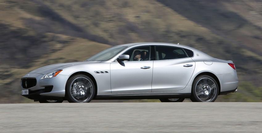 DRIVEN: New Maserati Quattroporte V6 tested in Italy Image #216072