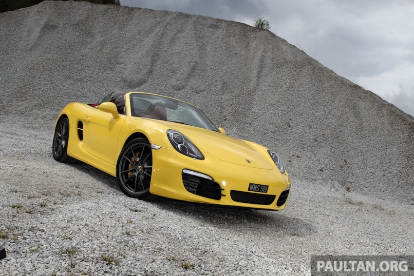 DRIVEN: 981 Porsche Boxster S 3.4 PDK Image #218880
