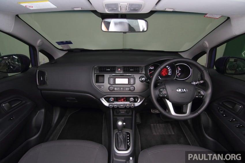 Kia Rio 1.4 SX Test Drive Review Image #219251